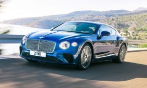 Новое купе Bentley Continental GT
